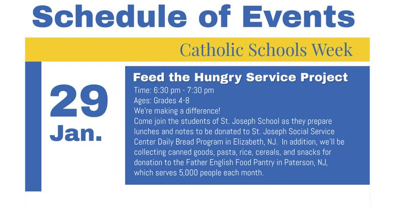 Join SJS in Feeding the Hungry Featured Photo