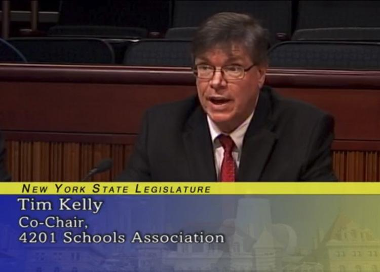 Superintendent Kelly giving testimony