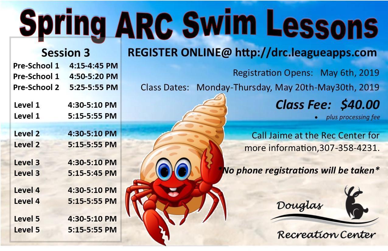 2019 Spring Swim Lessons Session 2