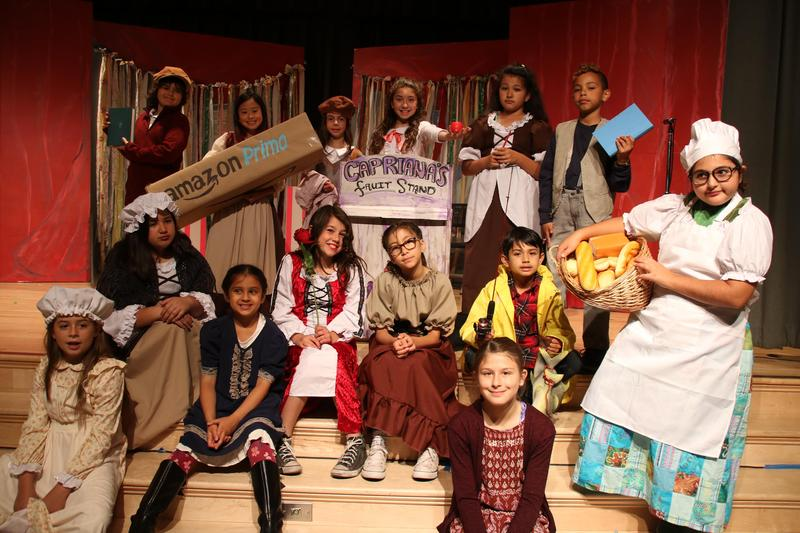 Some of the cast of the Adventures of Pinocchio