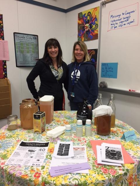 Yolanda Williges and Monica Daugherty Tasting