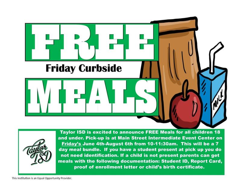 Free Summer Meals