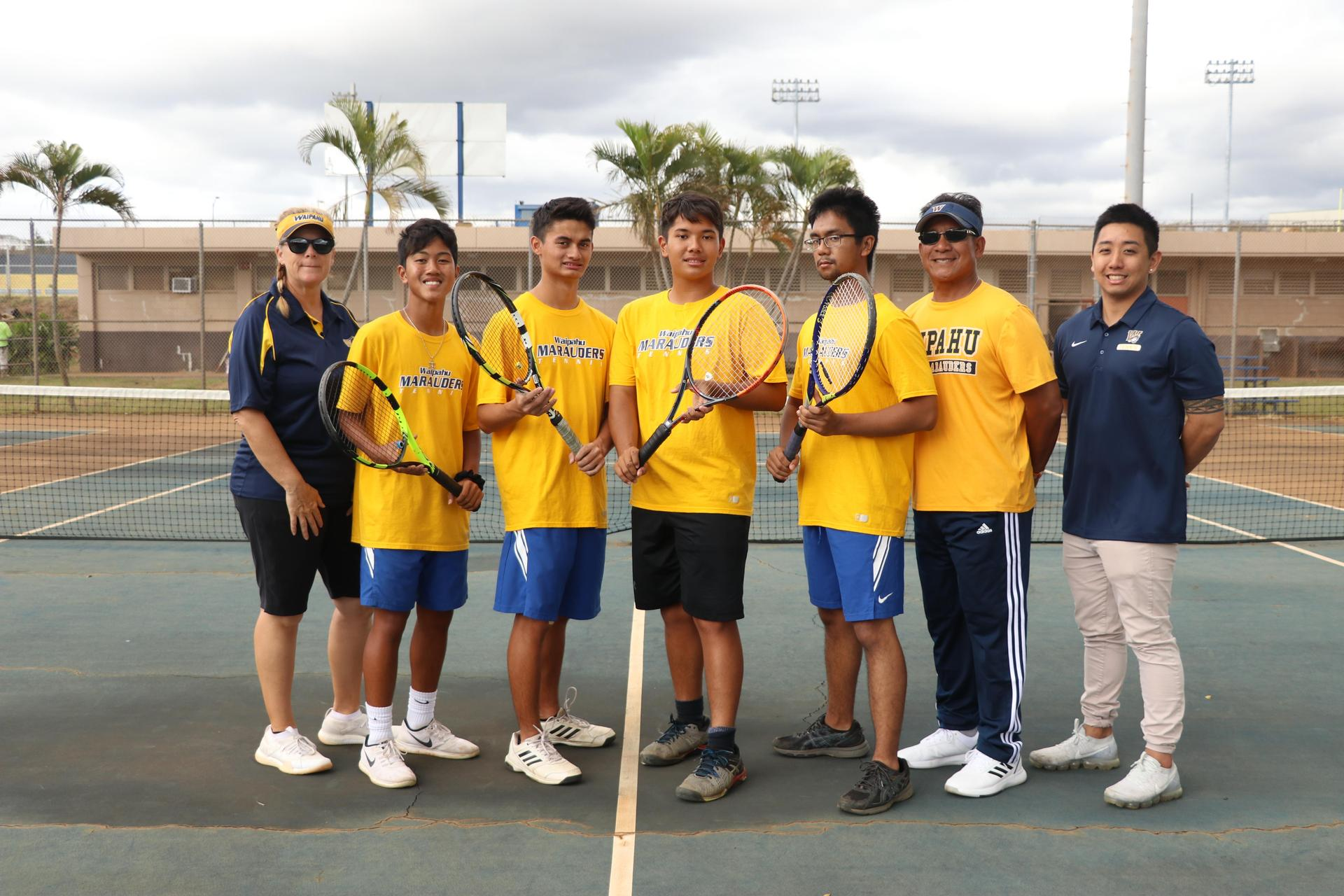 Boys Tennis Team (Varsity)