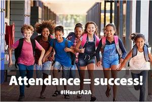 Attendance equals achievement