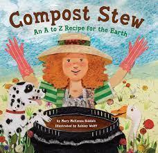 Cartoon girl stirring a large pot