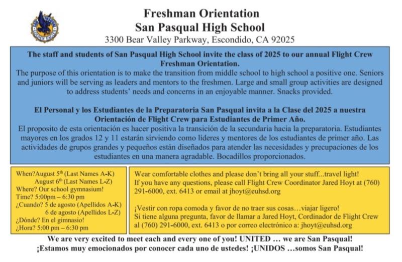 Incoming Freshmen Orientation Thumbnail Image