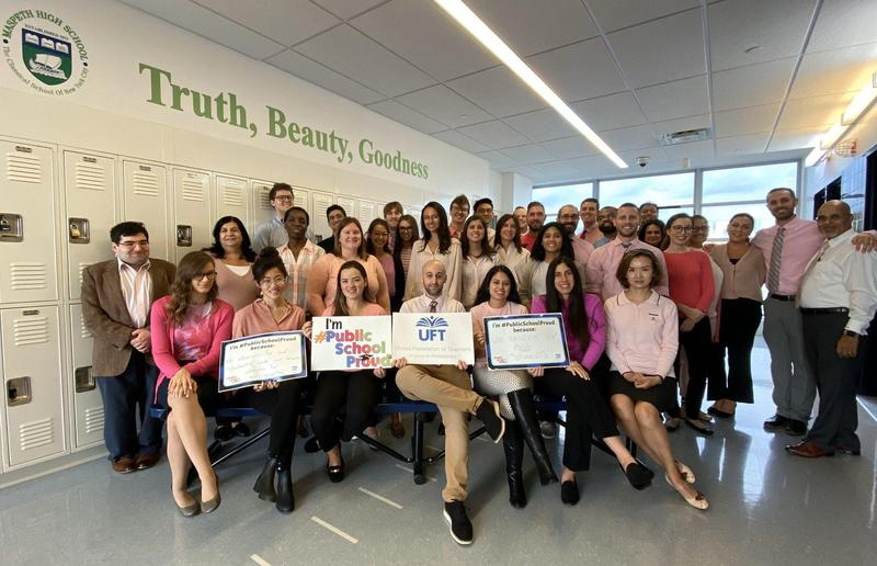 Maspeth High School YOUnited Against Breast Cancer Featured Photo