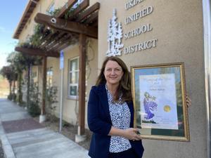Debra Kubin CA District 2 Woman of the Year 2021