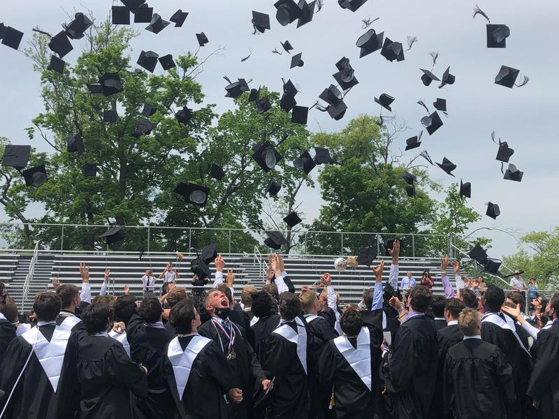 2021 Graduation: The caps are off.