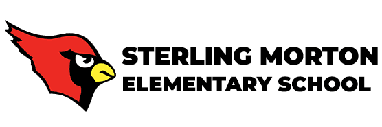 cardinal head / Sterling Morton Elementary