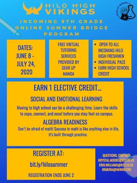 Hilo High School Summer Bridge Program Featured Photo