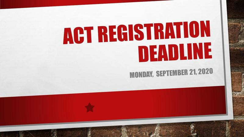 ACT Registration Graphic