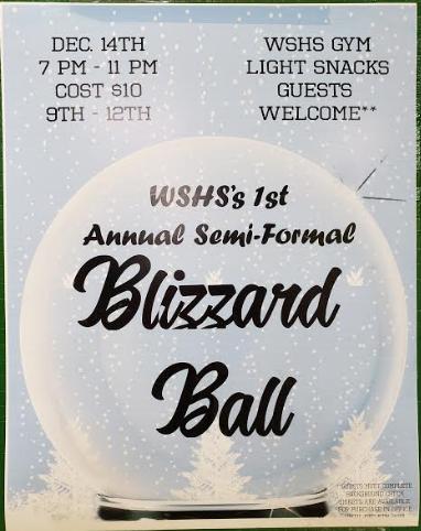 WSHS 1st Annual Semi- Formal Blizzard Ball Featured Photo