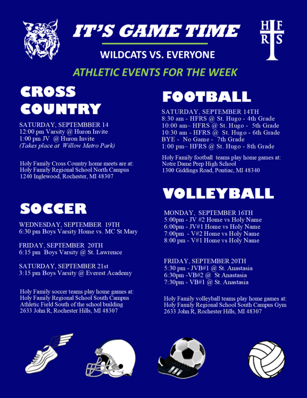 Good luck to all our teams!  Go Wildcats! Featured Photo