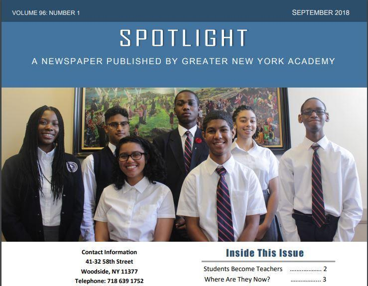 Spotlight September 2018 Thumbnail Image
