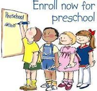 Enroll For Preschool Text