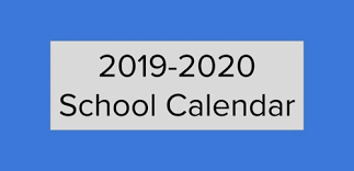 2019-2020 School Calendar Featured Photo