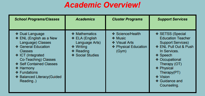 academic overview