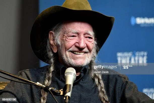 Willie Nelson sings the Abbott School Song. Featured Photo