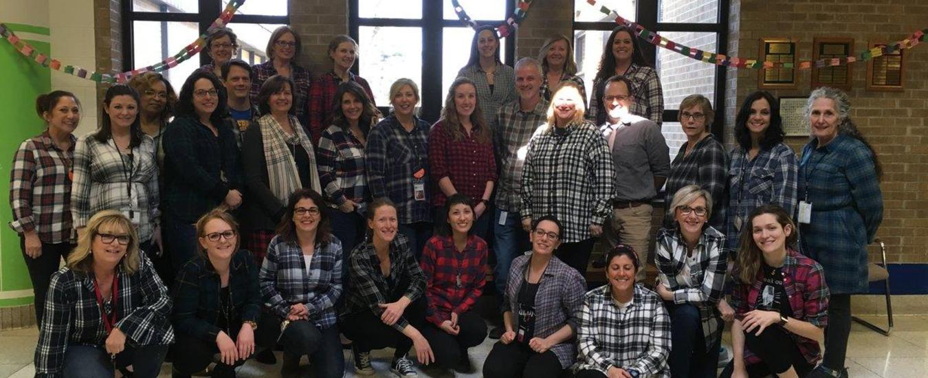 Flannel Day at TMS