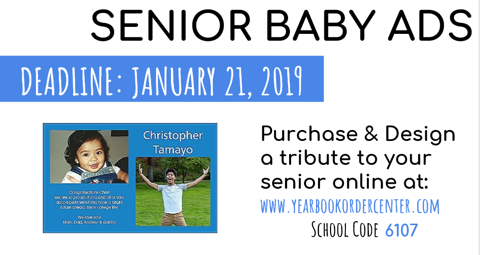 Senior Baby Ads