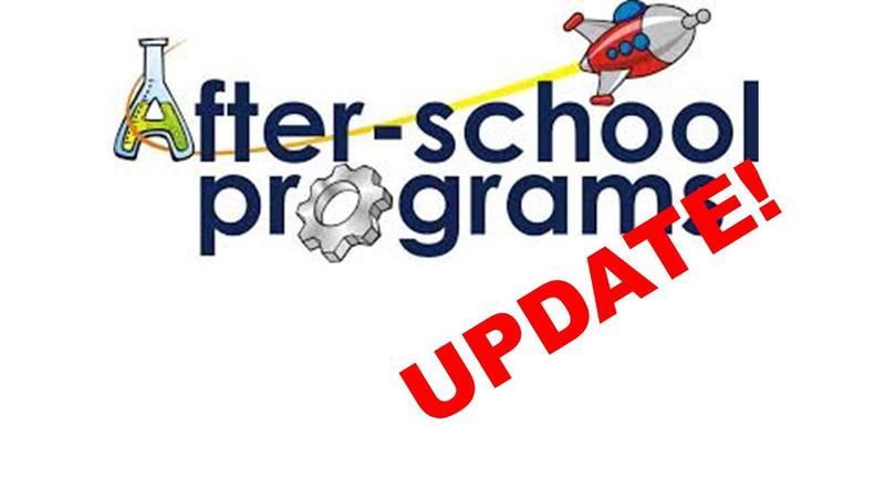 After School Program Update! Featured Photo