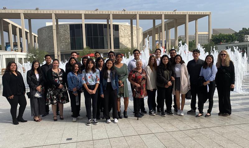 Kennedy Students Watch Motzart's