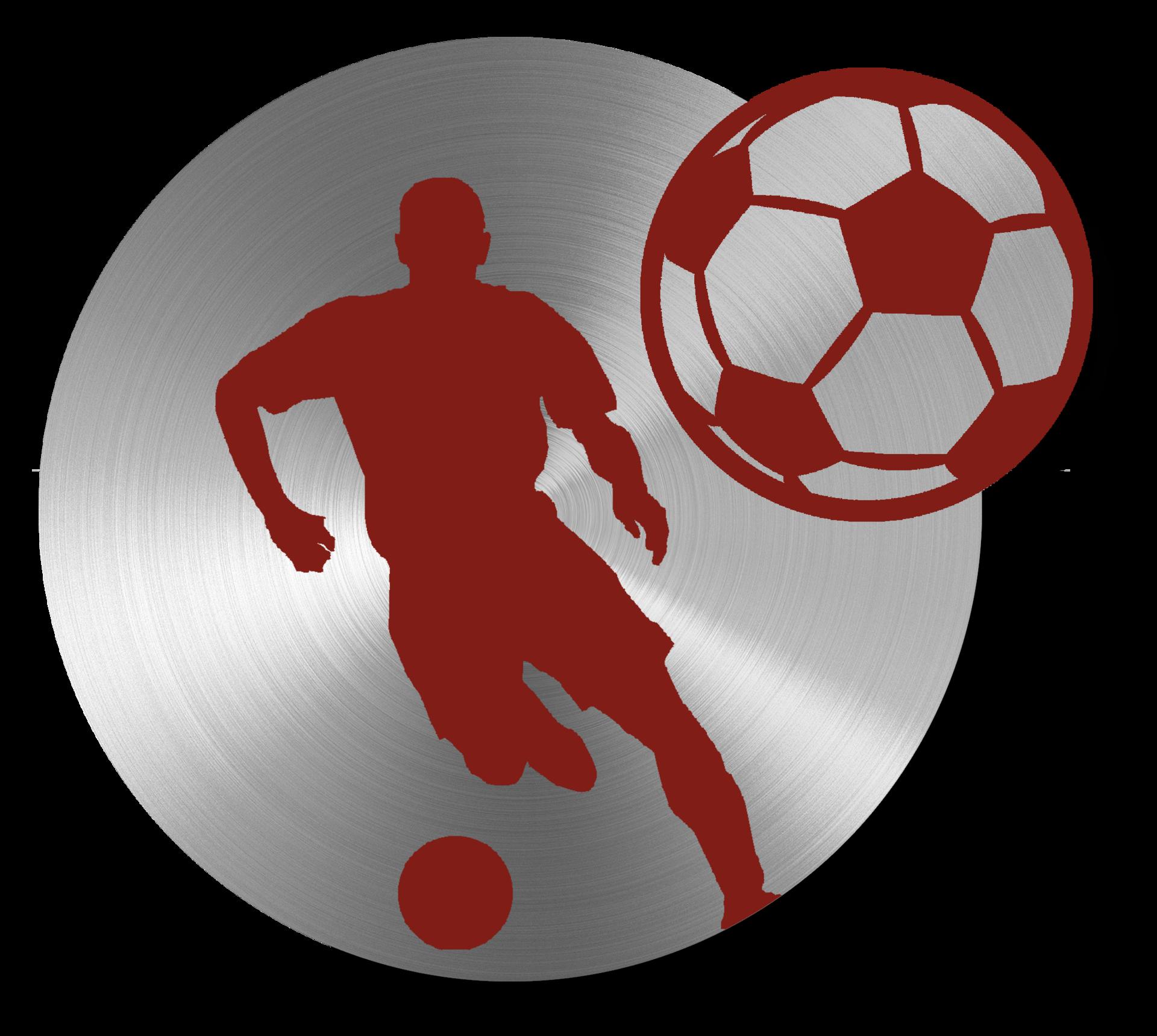 Boys soccer icon