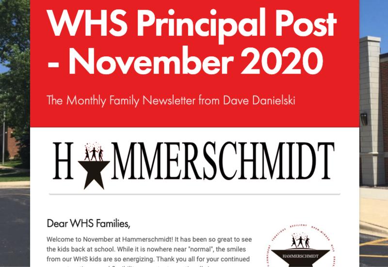 WHS Principal Post Newsletter- November 2020 Thumbnail Image