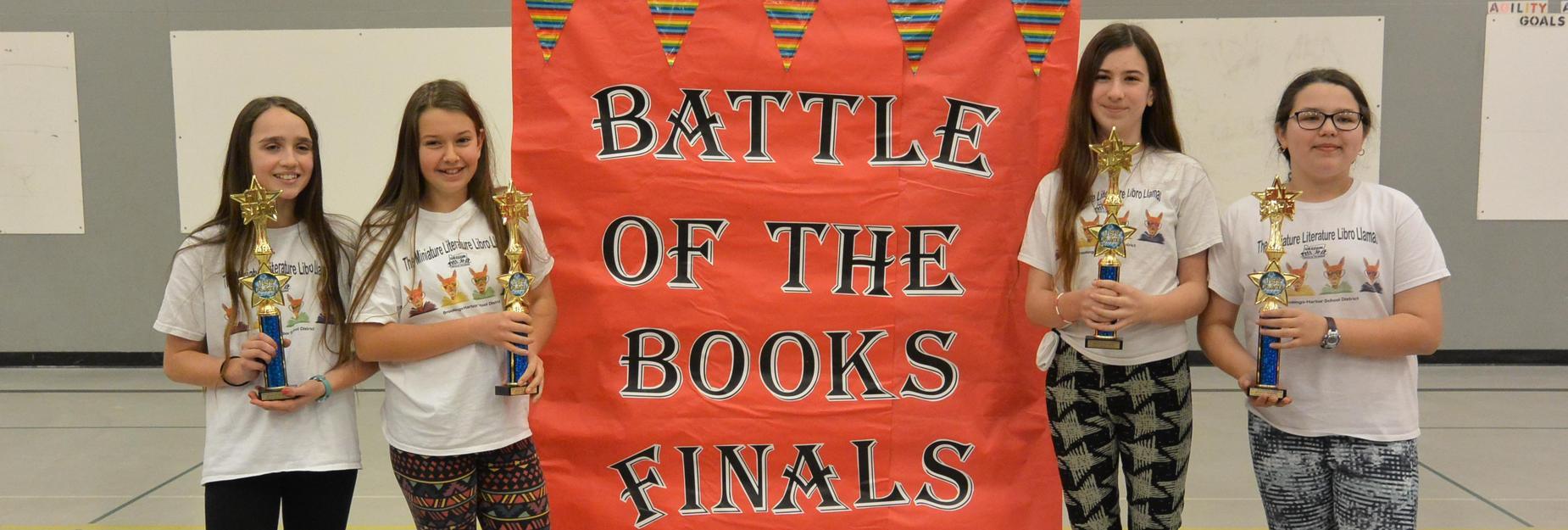 AMS Battle of the Books 2018 winners