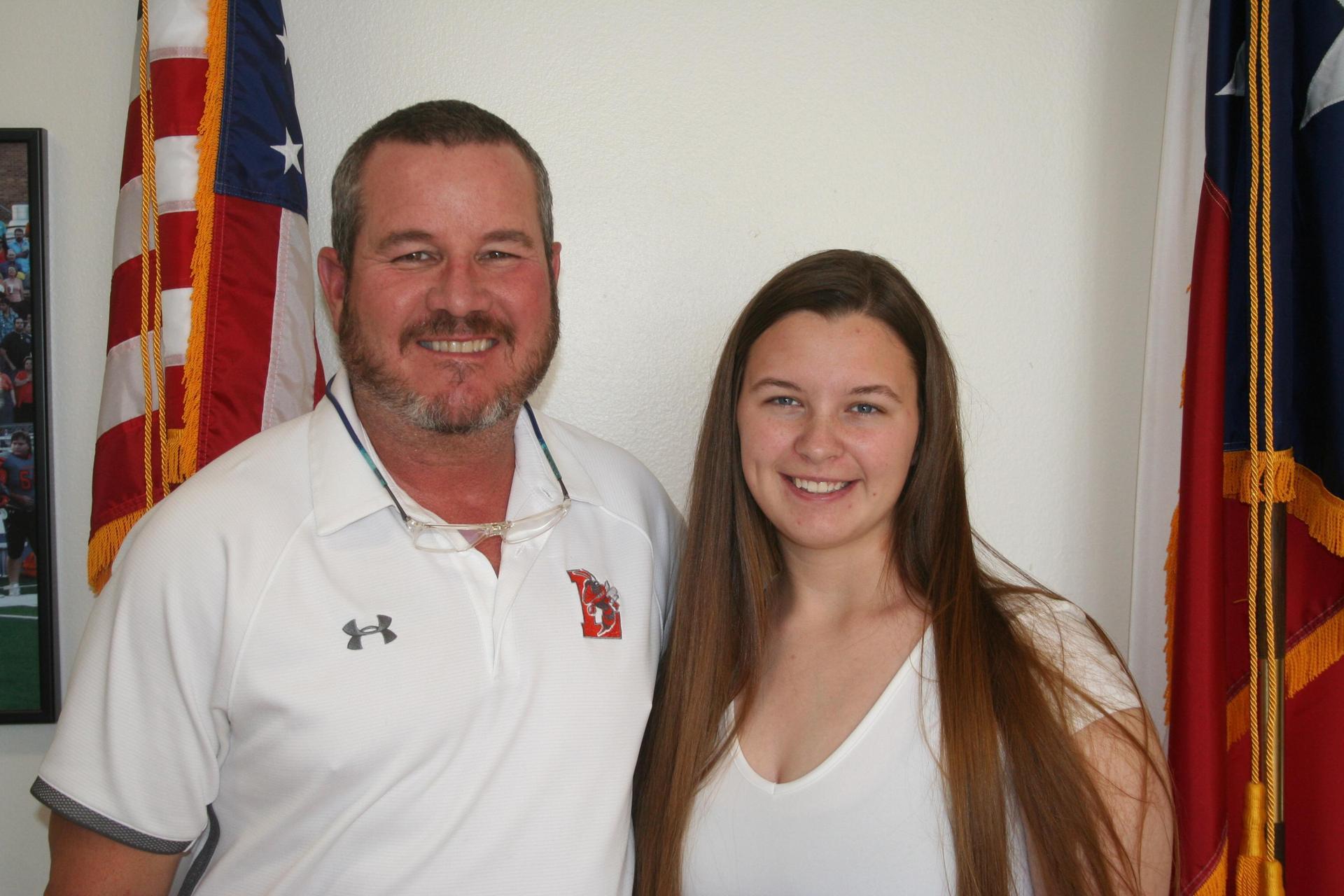 Mr. Payne and Kadi Sanderson
