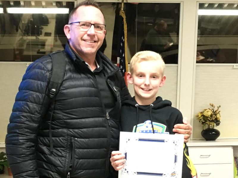Student of the Month - 6th Grade