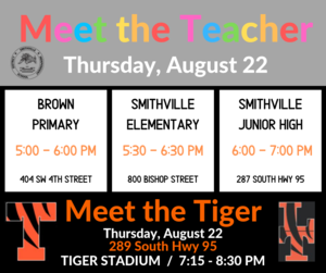 Meet the Teacher & Meet the Tiger