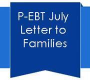 P-EBT Letter To Familes