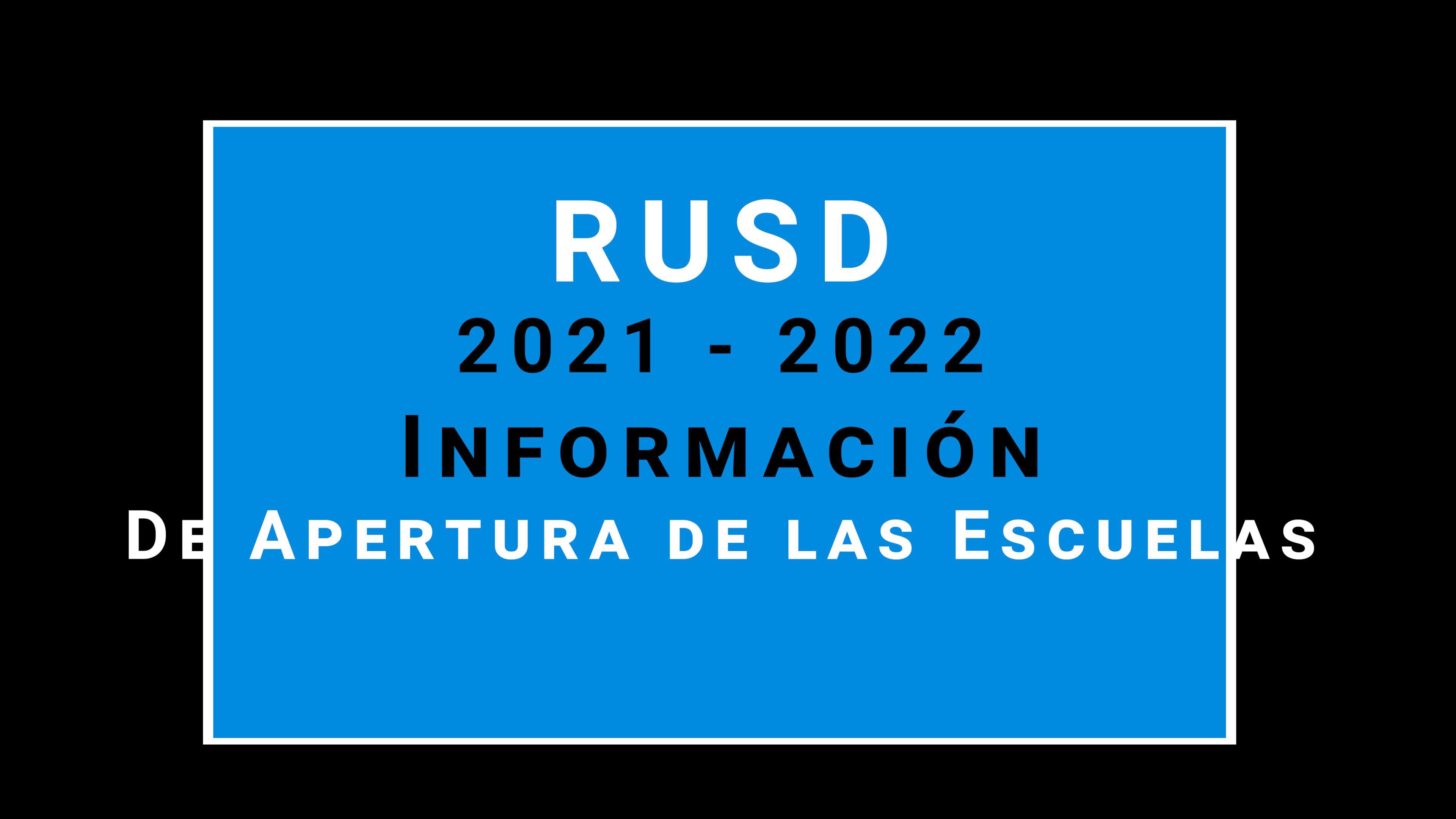 Spanish Opening of Schools Video