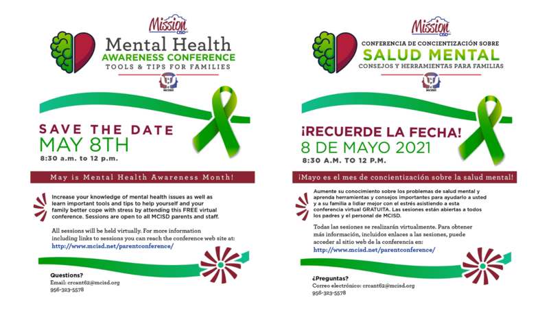 MCISD Virtual Mental Health Awareness Conference 2021