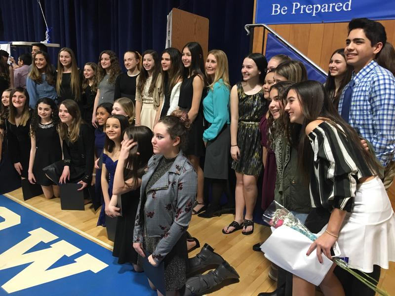 Congratulations to our new NJHS inductees Thumbnail Image