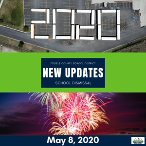 graphic for new updates for May 8, 2020