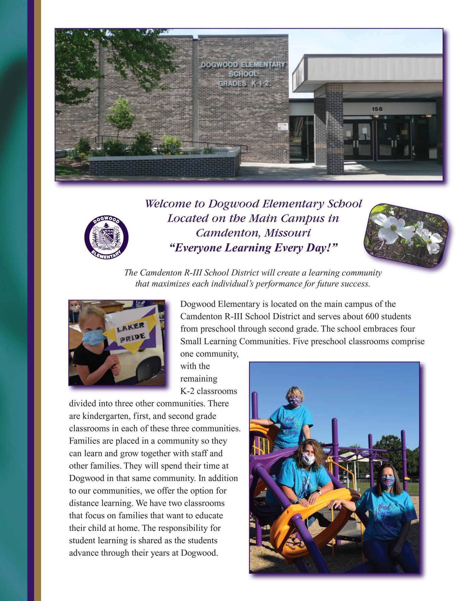 Dogwood Elementary Profile page 1