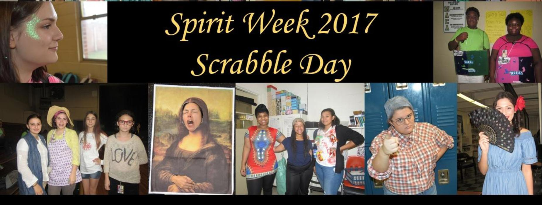 Spirit Week - Scrabble Day