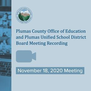 video recording of 11-18 board meeting