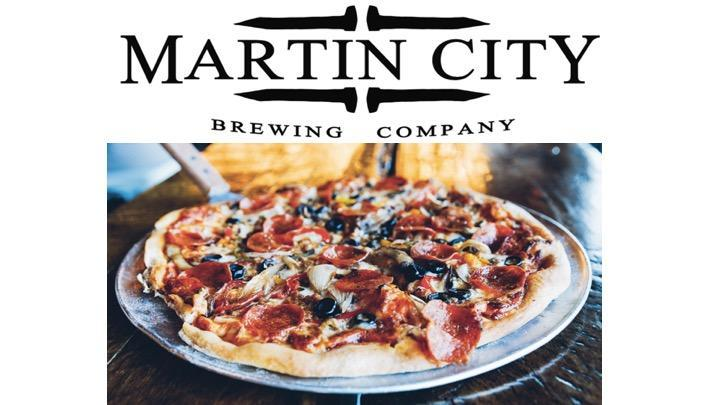 Martin City Brewing Co Pizza