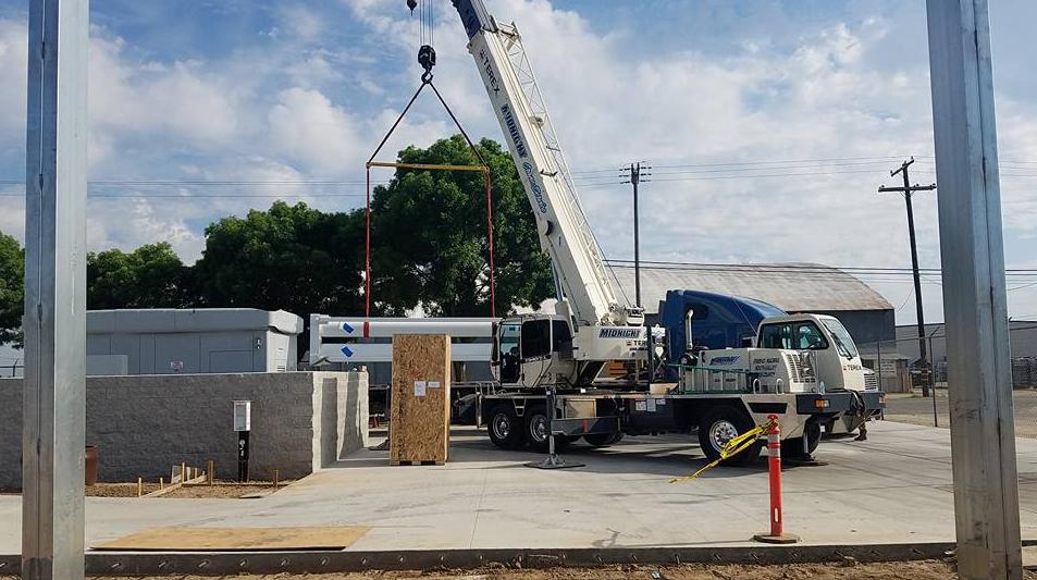 EUSD Transportation Yard Remodel 2018