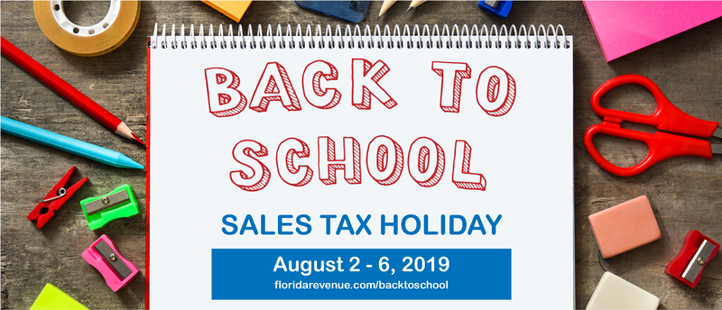 Back to School - Sales Tax Holiday (August 2 - 6, 2019) Featured Photo