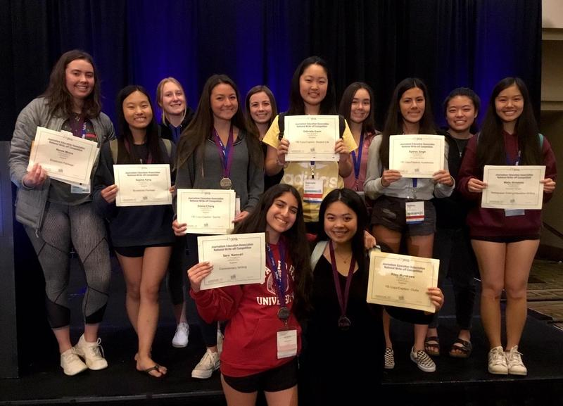 TRITON YEARBOOK TAKES HOME 8 TOP AWARDS AT JEA/NSPA SPRING NATIONAL HIGH SCHOOL JOURNALISM CONVENTION IN ANAHEIM Thumbnail Image