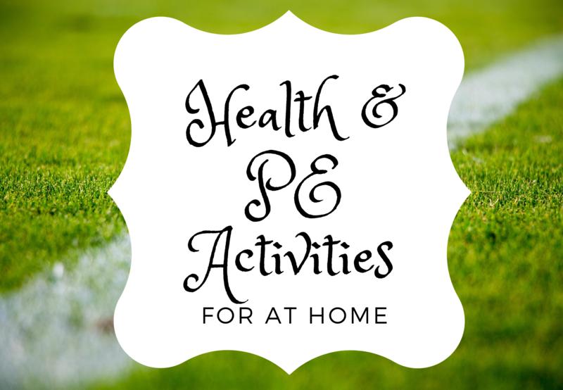 health & pe home activities