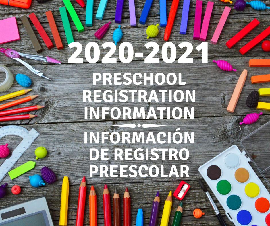 Online Preschool Registration