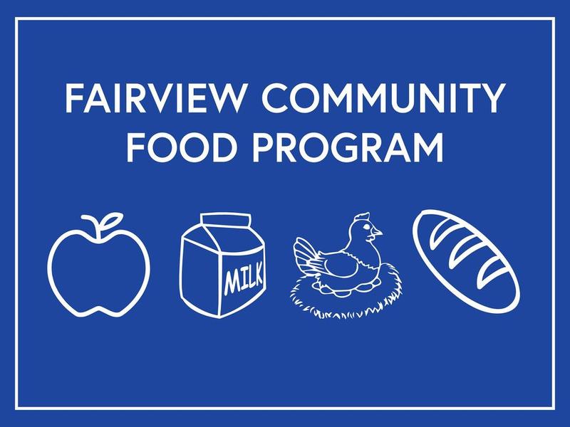 Fairview Community Food Program UPDATE Featured Photo