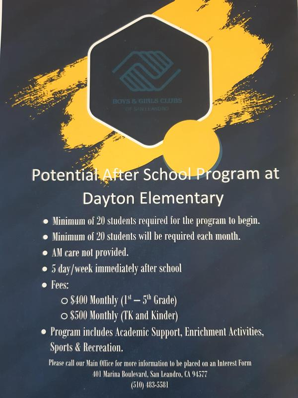 Potential After School Program at Dayton Featured Photo