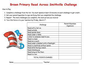 Read Across Smithville Challenge